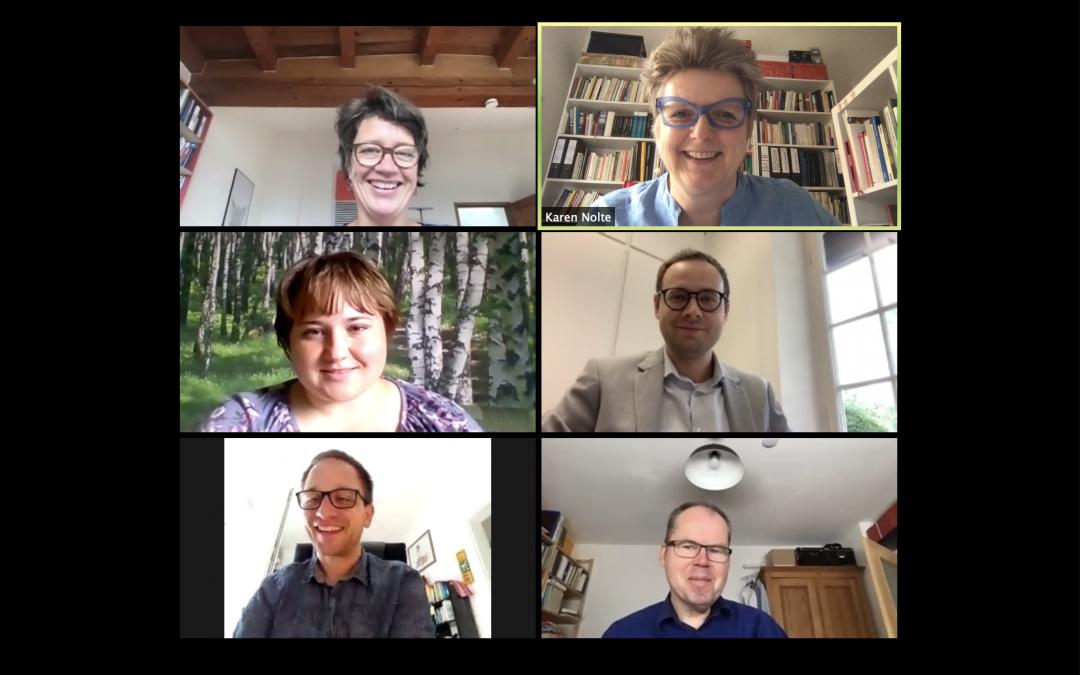 Virtuelles Treffen der Fachgesellschaft Pflegegeschichte am 19. Juni 2020